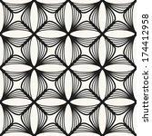 vector seamless pattern. modern ... | Shutterstock .eps vector #174412958