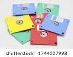 Colored Floppy Diskettes...