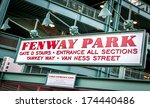 The Fenway Park Stadium Sign I...