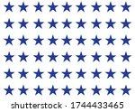 Patriotic Blue Stars American...