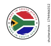 made in south africa vector... | Shutterstock .eps vector #1744466312