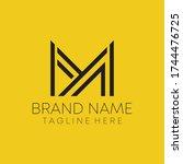 m y real estate letter logo...