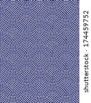 traditional japanese pattern | Shutterstock .eps vector #174459752