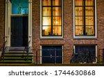 City Street House Windows View
