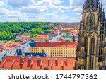 Top Aerial View Of Prague...