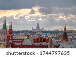 Historical Buildings Of Moscow. ...