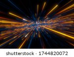 Speed Of Light In Space On Dark ...