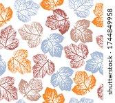 creative illustration. abstract ... | Shutterstock .eps vector #1744849958