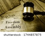 Freedom Of Assemby Message On...