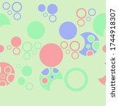 horizontal  simple  of ... | Shutterstock . vector #1744918307