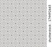 ornamental seamless pattern....   Shutterstock .eps vector #174492665