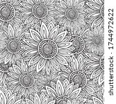 seamless pattern with...   Shutterstock .eps vector #1744972622