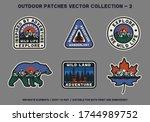 outdoor wild land adventure... | Shutterstock .eps vector #1744989752
