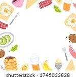 vector frame of different...   Shutterstock .eps vector #1745033828