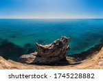 The Rock Or Lava Formation Wit...