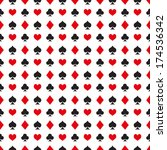 vector pattern made with the... | Shutterstock .eps vector #174536342