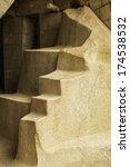 detail of ruins in machu picchu ...   Shutterstock . vector #174538532