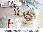 reception area of modern office ... | Shutterstock . vector #174539258