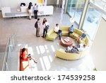 reception area of modern office ... | Shutterstock . vector #174539258