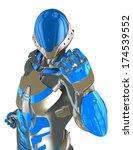 robot | Shutterstock . vector #174539552