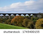 Craigmore Viaduct  is a railway bridge near Bessbrook county Armagh known as the 18 arches Northern Ireland near Newry County Down
