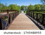 Footbridge In Clifton E French...