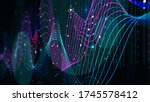 analytical indicator sci fi... | Shutterstock . vector #1745578412