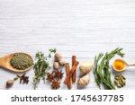 Top View Healthy Food Immune...