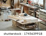 Workbench Of Furniture Factory...