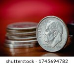 Dollar  Coin  Coins  Cents  Us...