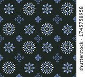 seamless abstract vector... | Shutterstock .eps vector #1745758958