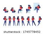 flat design style illustration... | Shutterstock .eps vector #1745778452