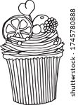 Cupcakes For Coloring On A...