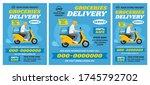 set of advertising flyer... | Shutterstock .eps vector #1745792702