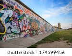 Stock photo berlin wall berlin germany 174599456
