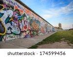 Stock photo berlin wall berlin germany 174599456