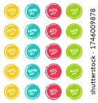 set of grunge sticker with 30 ...   Shutterstock .eps vector #1746009878