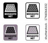 """mosquito net"" protective... | Shutterstock .eps vector #1746066332"