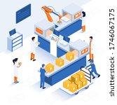 innovative contemporary smart... | Shutterstock .eps vector #1746067175
