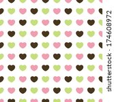 heart pattern | Shutterstock .eps vector #174608972