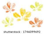 the imprint of the leaves.... | Shutterstock .eps vector #1746099692