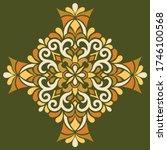cross doodle sketch color... | Shutterstock .eps vector #1746100568