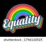 gay pride concept design. pride ... | Shutterstock .eps vector #1746110525
