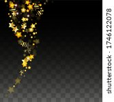 vector illustration with gold... | Shutterstock .eps vector #1746122078