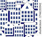vector seamless pattern  paper... | Shutterstock .eps vector #1746153542