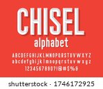 Chisel Style Alphabet Design...