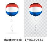 foil balloons in vector.... | Shutterstock .eps vector #1746190652