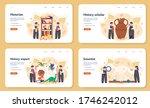 historian web banner or landing ... | Shutterstock .eps vector #1746242012