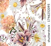 vintage luxury seamless pattern ... | Shutterstock .eps vector #1746252095