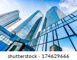 bottom view of deutsche bank... | Shutterstock . vector #174629666